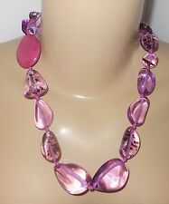 Sobral Stonewash Lilac Estilo Statement Necklace Direct From Brazil