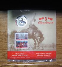 2012 Calgary Stampete Colorized 25 cent / stamp Set - Free Shipping