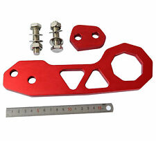New Red Universal Aluminum Alloy Race Tow Hook Kit ( Rear )