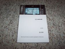 2008 Lexus ES350 ES 350 Navigation System Owner User Manual Guide Book