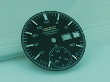 SEIKO BLACK DIAL HELMET FOR 6139-7100, 6139 7101 WATCH # D-1