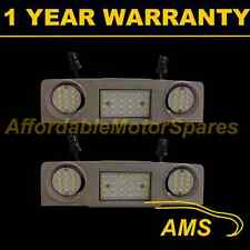 2X FOR SEAT ALHAMBRA 2010 On 48 WHITE LED FRONT INTERIOR ROOF COURTESY LAMP
