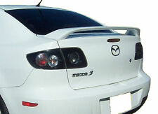 PAINTED MAZDA 3 FACTORY STYLE SPOILER  2003-2009