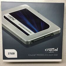 "Crucial MX300 2.5"" 275GB SATA III SSD Solid State Hard Drive BRAND NEW & SEALED"