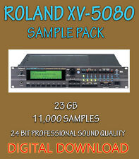 ROLAND XV-5080 SAMPLES FOR APPLE LOGIC PRO EXS24,  EXS + WAV FORMATS- DOWNLOAD