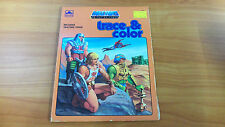 Vintage 1984 Masters of the Universe Trace & Colour Book