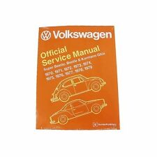 NEW Volkswagen Beetle Super Karmann Ghia Bentley Repair Manual VW 800 0179