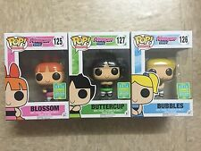 Funko POP! - Powerpuff Girls Set - Blossom + Buttercup + Bubbles - SDCC Summer