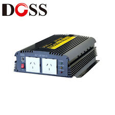 DOSS PIN1200 1200W 12v DC 240v AC INVERTER  TVs Computers Radios Boats SUV Cars