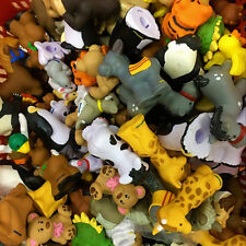 Random 15pcs Fisher-Price Little People Zoo Talkers Animal Figure Toy - no sound