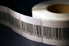 EAS Anti Theft 2,000 Checkpoint® 410 Compatible RF 8.2 MHz Labels, Fake Barcode