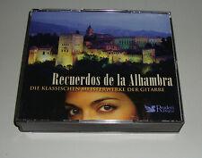 RECUERDOS DE LA ALHAMBRA KLASSISCHEN MEISTERWERKE DER GITARRE 4 CD 'S CA 5 STD.