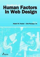 The Handbook of Human Factors in Web Design (Human Factors & Ergonomics)