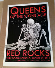 Queens of the Stone Age w/ Gogol Bordello - Red Rocks Amphitheater- Morrison, CO
