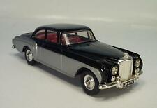 CORGI TOYS 224 BENTLEY CONTINENTAL SPORTS SALOON ARGENTO-NERO #186