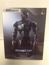 PLAY ARTS KAI ROBOCOP 3.0 2014 BLACK VERSION ACTION FIGURE MOVIE JOEL KINNAMAN
