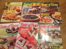 "LOT OF 6 ""TASTE OF HOME"" MAGAZINES... 2005"
