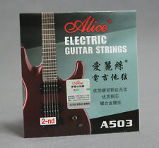 10pcs Lot A503 Light .013 Stainless Steel Electric Guitar Strings Second 2-nd B