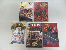 JLA 5 ISSUE PRESTIGE COMIC LOT GODS & MONSTERS PLANETARY DC ELSEWORLDS