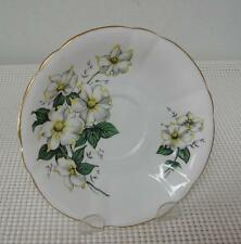 REPLACEMENT SAUCER Windsor Bone China CANADIAN DOGWOOD Made in England