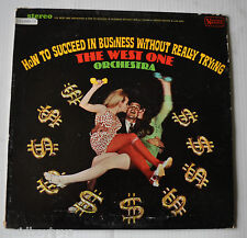 How to Succeed in Business without Trying THE WEST ONE Orchestra LP Record