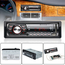 Car Radio Stereo Audio Head Unit Player IPod/MP3/WMA/USB/SD/AUX-IN/FM In-Dash