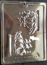 Old-Time Sailing Ship Pirate Ship Chocolate Plastic Candy Soap Mold N-50