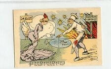 "Vintage China Boxer Era , ""Chinese Cook Murder Angel"" Post Card - RARE"