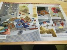 Street Party Cross Stitch Charts - Vintage Feel
