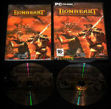 LIONHEART LEGACY OF THE CRUSADER Pc Versione Italiana Lion Heart ••••• COMPLETO