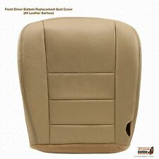 2002 2003 2004 2005 2006 007 Ford F250 F350 Driver Bottom Leather Seat Cover Tan