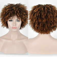 cheap Long Kinky Curly curls Brown blonde Afro Wig African American Women Wigs