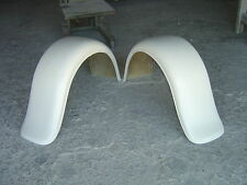 1932 FORD 3 WINDOW COUPE FIBERGLASS REAR FENDERS (PAIR)