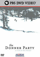 The American Experience: The Donner Party New DVD! Ships Fast!