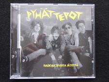 Pyhät Tepot: Radioaktiivista Jätettä - EP CD Rock aus Finnland Rock from Finland
