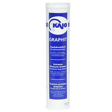 [5 Kartuschen] Hochdruckfett 400g KPF2K-30-Graphit Schmierfett Schmiernippel