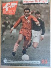 SPORT IM BILD 23 - 11.11. 1960 Kunstturnen Schach Fußball DDR-Finnland 5:0 Täve