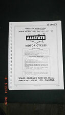 Sears Allstate Manual/Parts List  models 810.94160 /810.94170 [3-10-3] 00058