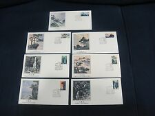 CHINA PRC 1981 Sc#1696-1701 T67 Lushan Mountain 7v Fleetwood FDC
