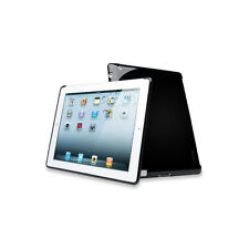 Black Silicone Smart Case Rubber Skin Case Cover for iPad 2/3/4 Protects Scratch