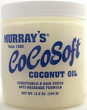 MURRAY'S COCOSOFT COCONUT OIL CONDITIONER & HAIR DRESS ANTI-BREAKAGE 12.5 OZ.