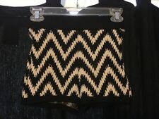 Forever 21 Knit Shorts, can be worn as high wasited. Tight shorts, black, tan