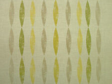 Ashley Wilde ASTIA Chartreuse Linen/Cotton Blend Curtain /Soft Furnishing Fabric