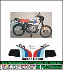 kit adesivi stickers compatibili  r 80 gs paris dakar gaston rahier