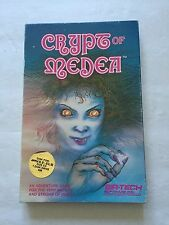 CRYPT OF MEDEA*VERY RARE*SIR TECH*1983*WIZARDRY*ULTIMA*SSI*CPRG*TESTED & WORKS*