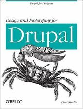 Design and Prototyping for Drupal by Dani Nordin (2011, Paperback)