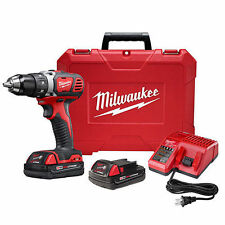 "Milwaukee 2606-22CT  M18 18V Li-Ion 1/2"" Drill Driver Kit 2606-82CT !!!!"