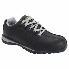 Grafters Composite Non Metal Safety Toe Shoe Unisex Black Grey Trainers Size 7
