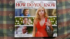 How Do You Know - Reese Witherspoon Owen Wilson -   VCD