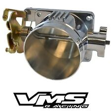 VMS POLISHED THROTTLE BODY 75MM 75 MM 96-04 FORD MUSTANG GT 4.6L SOHC DIRECT FIT